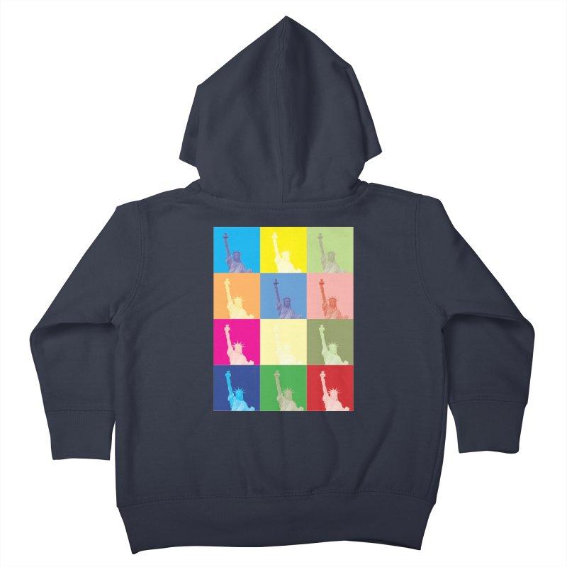 LIBERTY Kids Toddler Zip-Up Hoody by designsbydana's Artist Shop