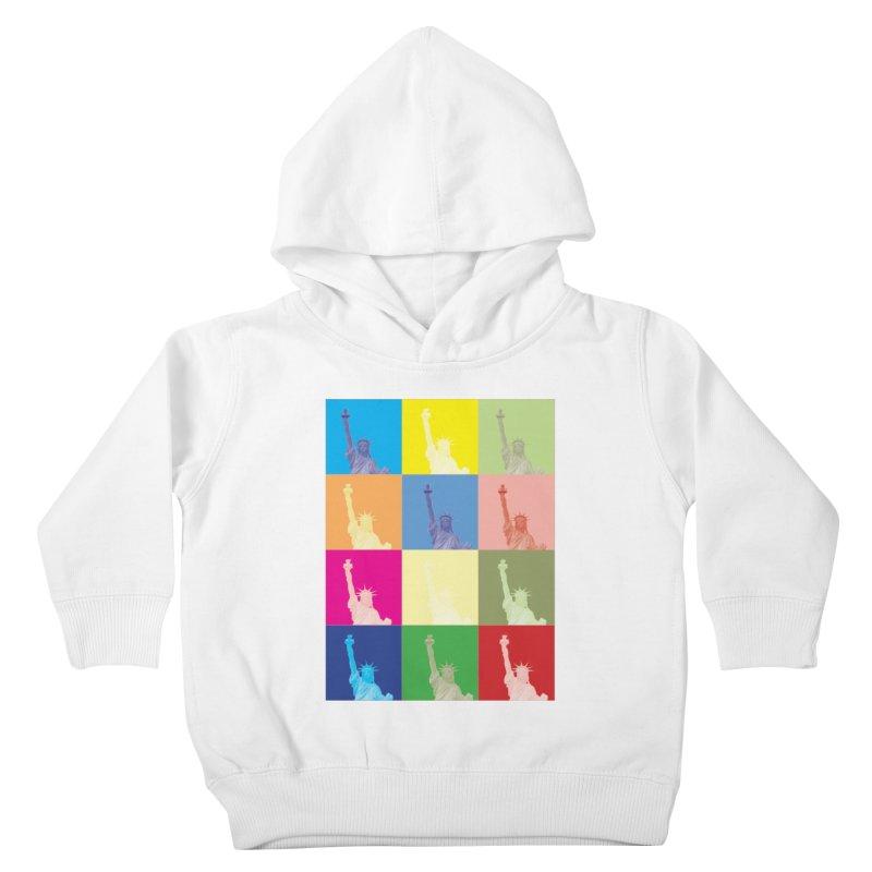 LIBERTY Kids Toddler Pullover Hoody by designsbydana's Artist Shop