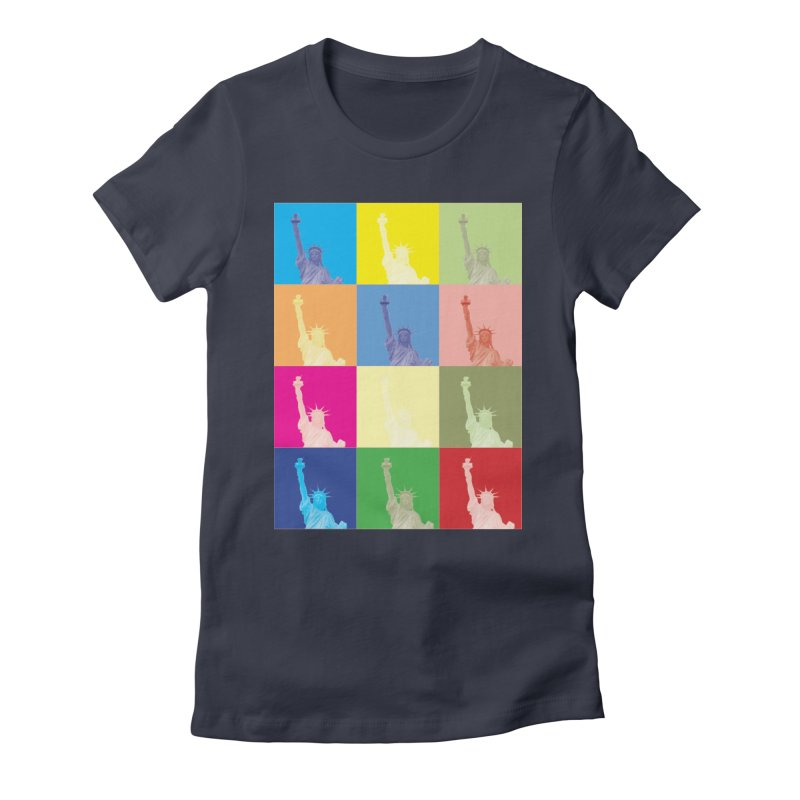 LIBERTY Women's T-Shirt by designsbydana's Artist Shop