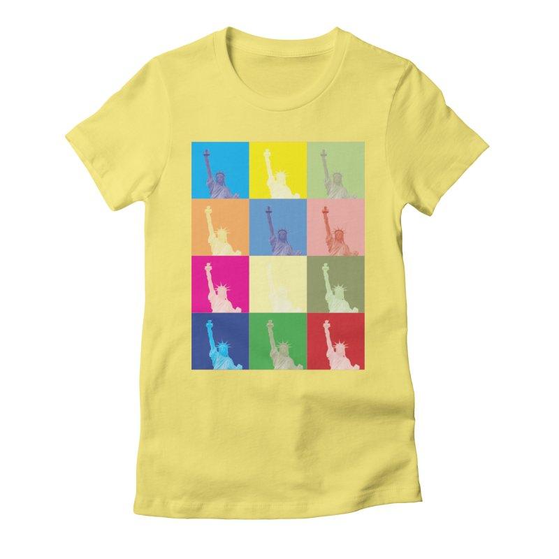 LIBERTY Women's T-Shirt by designsbydana's Artist Shop