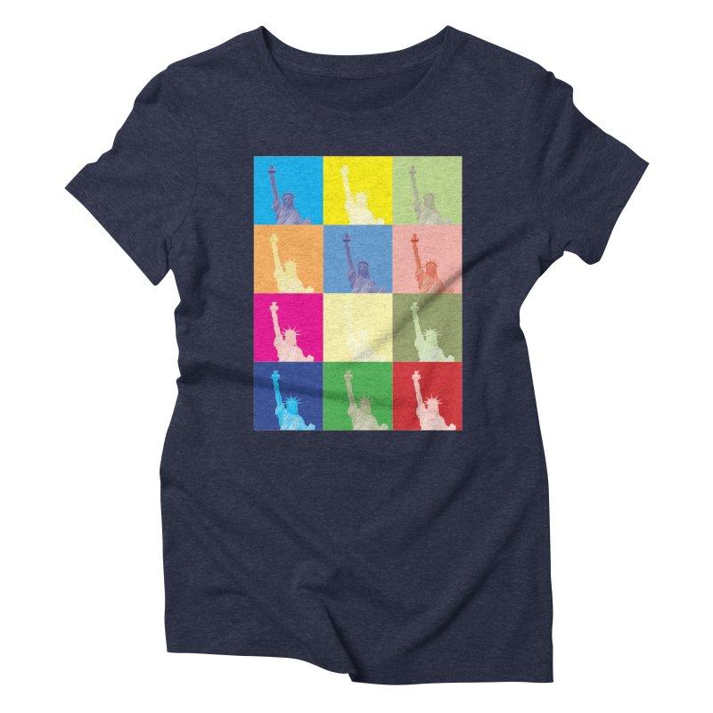 LIBERTY Women's Triblend T-Shirt by designsbydana's Artist Shop