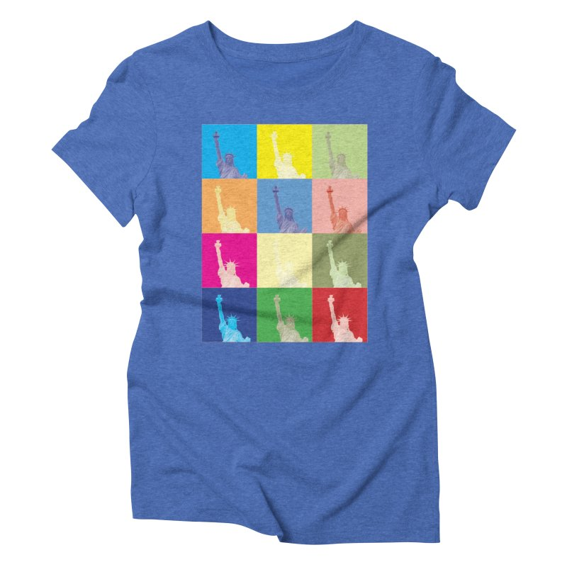 LIBERTY Women's Triblend T-Shirt by designsbydana's Artist Shop