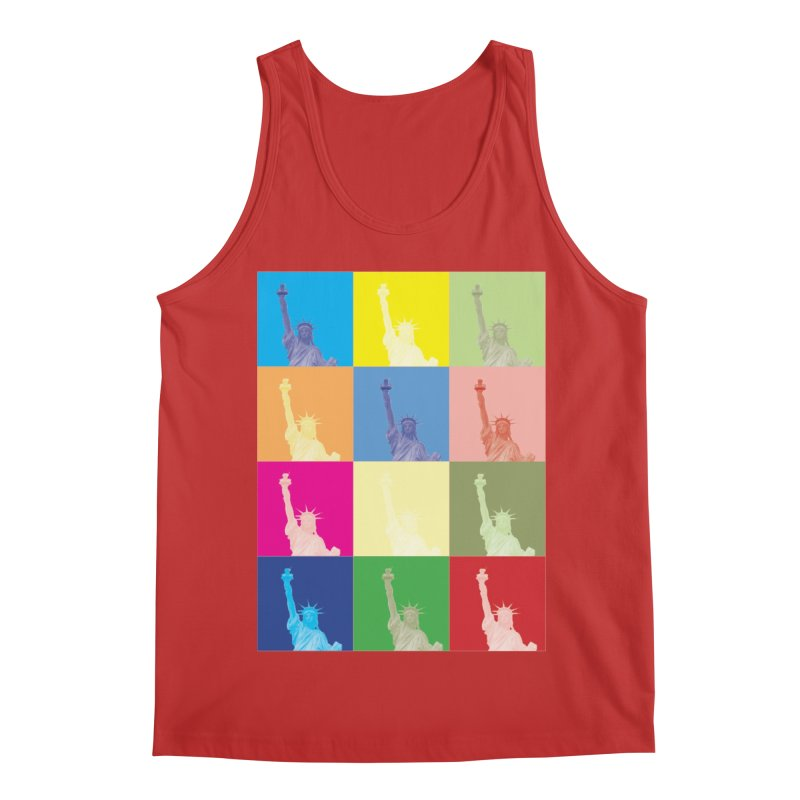 LIBERTY Men's Regular Tank by designsbydana's Artist Shop