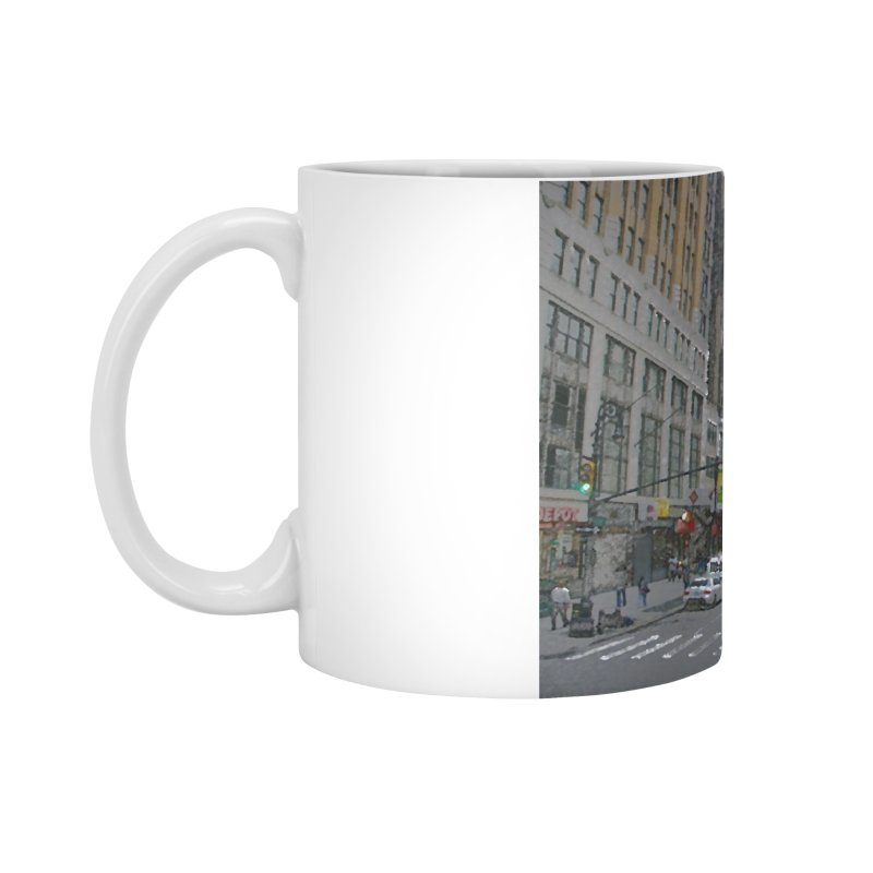 NYC PAINT Accessories Standard Mug by designsbydana's Artist Shop
