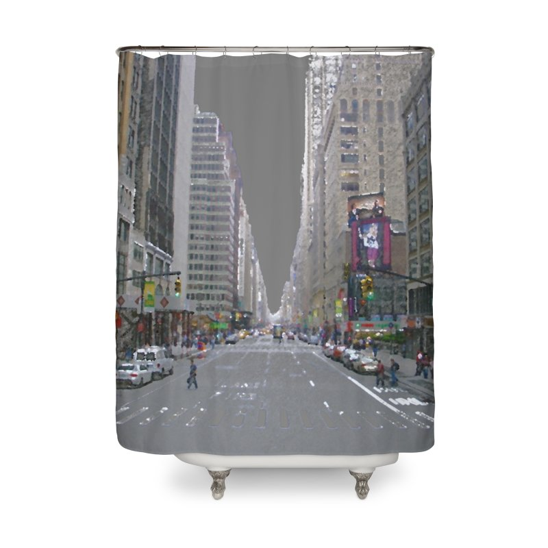 NYC PAINT Home Shower Curtain by designsbydana's Artist Shop