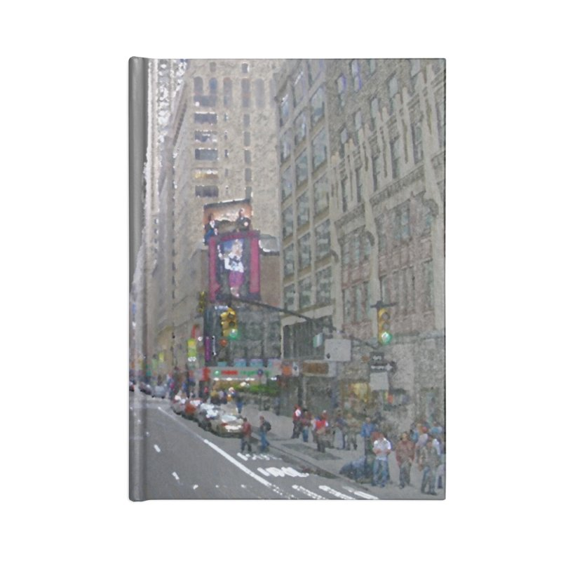 NYC PAINT Accessories Lined Journal Notebook by designsbydana's Artist Shop