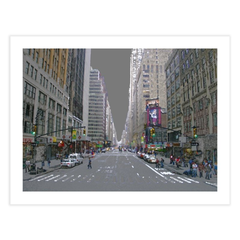NYC PAINT Home Fine Art Print by designsbydana's Artist Shop