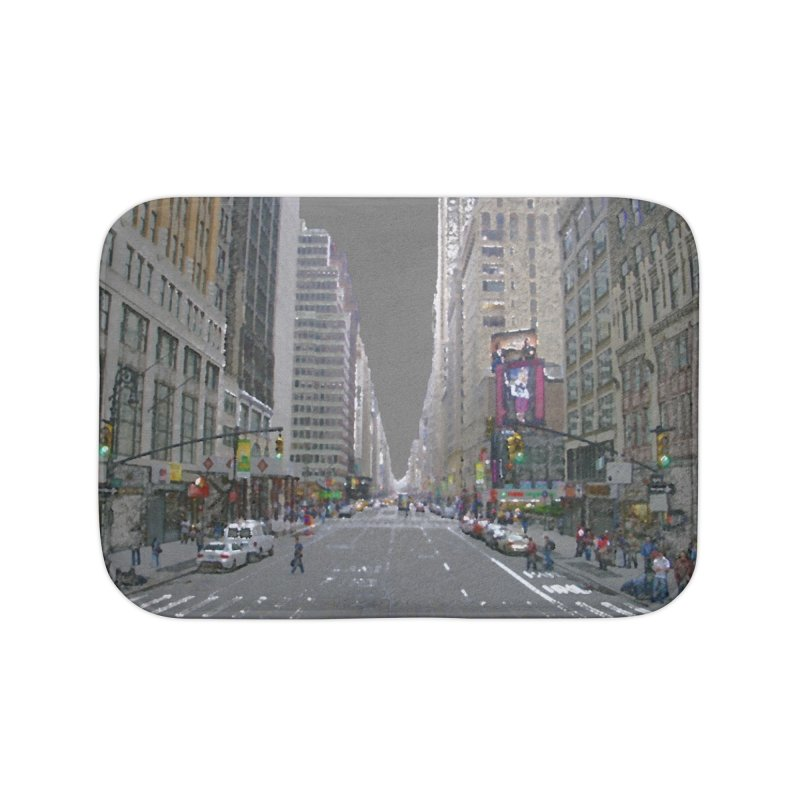 NYC PAINT Home Bath Mat by designsbydana's Artist Shop