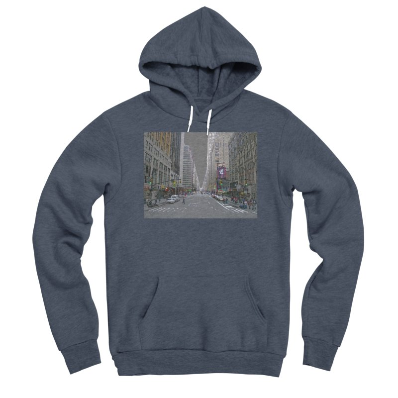 NYC PAINT Women's Sponge Fleece Pullover Hoody by designsbydana's Artist Shop
