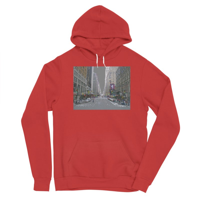 NYC PAINT Women's Pullover Hoody by designsbydana's Artist Shop