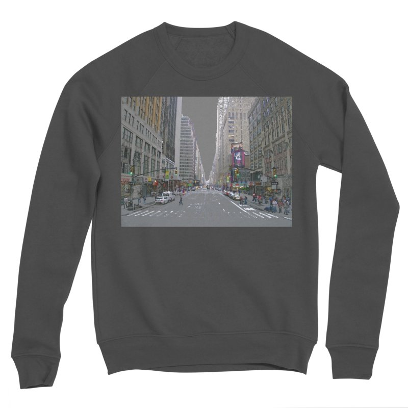NYC PAINT Women's Sponge Fleece Sweatshirt by designsbydana's Artist Shop