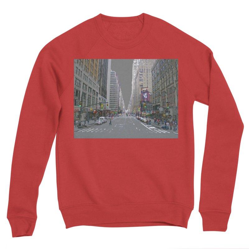 NYC PAINT Women's Sponge Fleece Sweatshirt by designsbydana's Artist Shop
