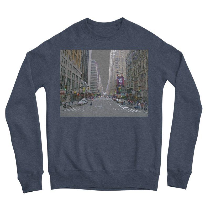 NYC PAINT Men's Sponge Fleece Sweatshirt by designsbydana's Artist Shop