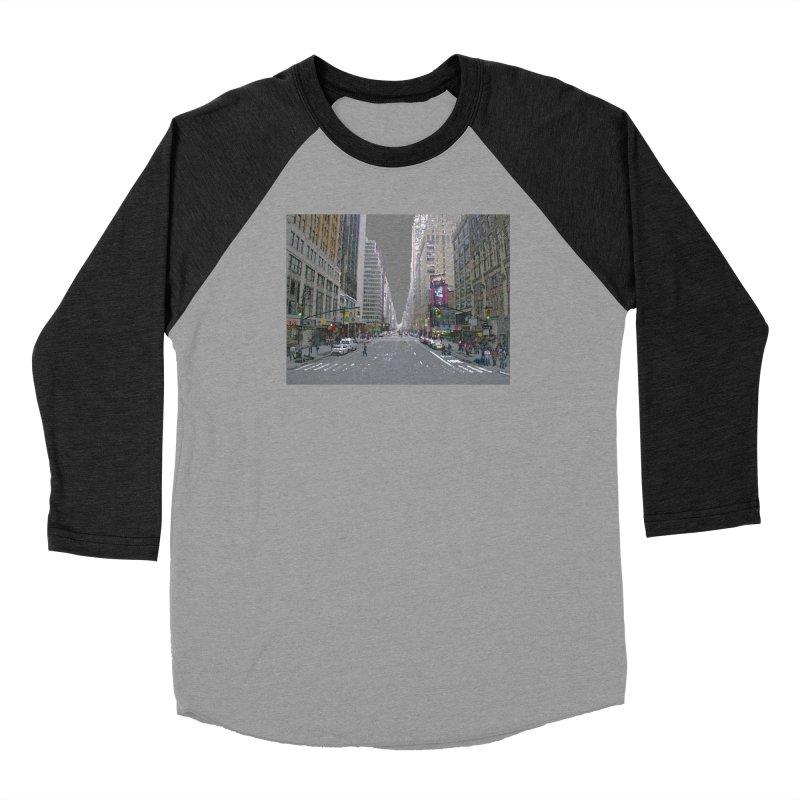 NYC PAINT Men's Baseball Triblend Longsleeve T-Shirt by designsbydana's Artist Shop