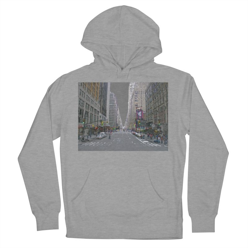 NYC PAINT Men's French Terry Pullover Hoody by designsbydana's Artist Shop