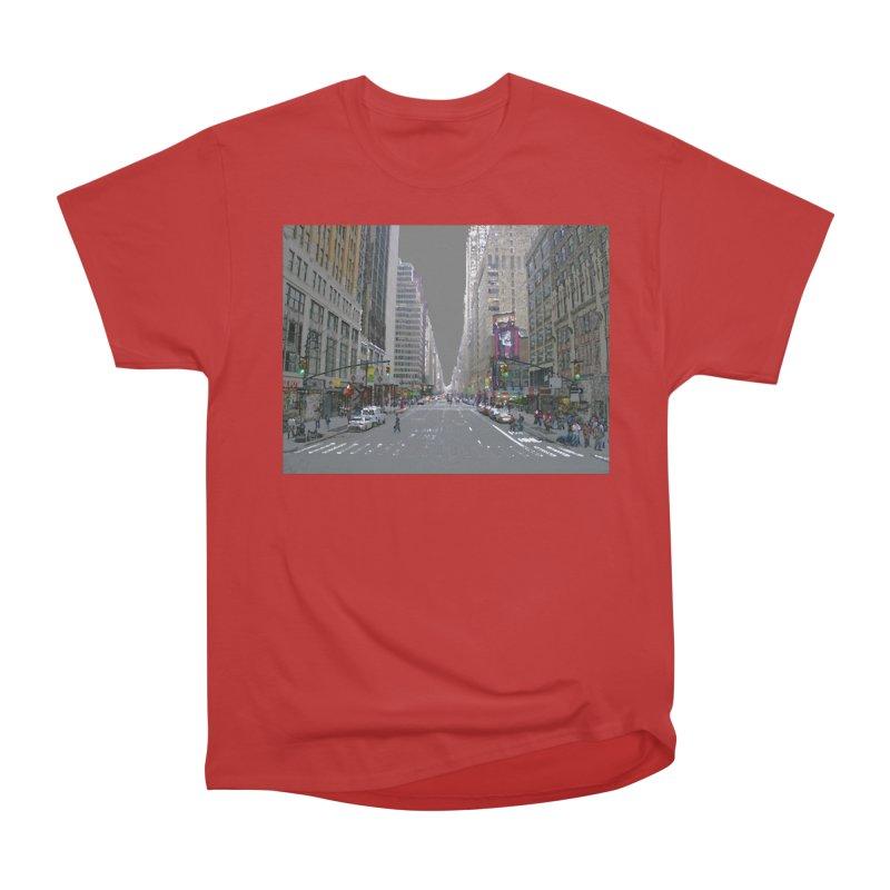 NYC PAINT Men's Heavyweight T-Shirt by designsbydana's Artist Shop