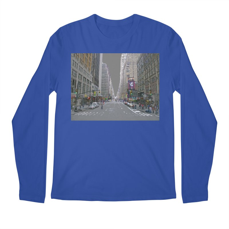 NYC PAINT Men's Regular Longsleeve T-Shirt by designsbydana's Artist Shop