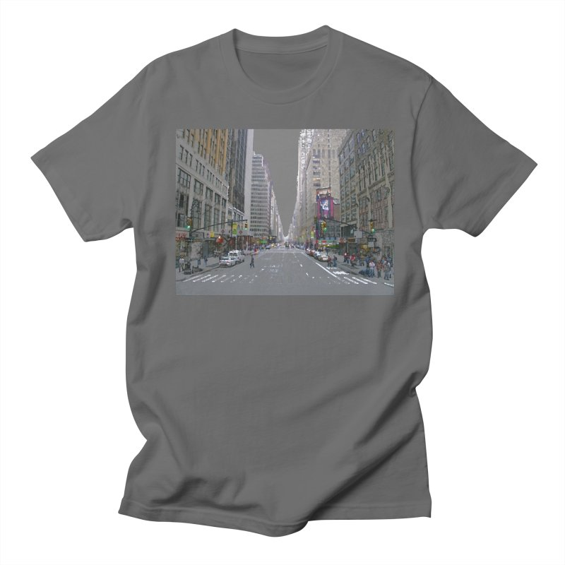 NYC PAINT Men's T-Shirt by designsbydana's Artist Shop