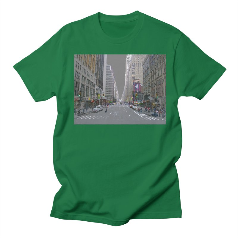 NYC PAINT Men's Regular T-Shirt by designsbydana's Artist Shop