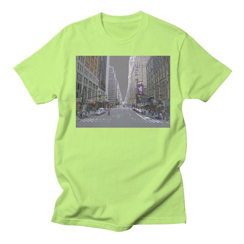 NYC PAINT Women's Regular Unisex T-Shirt by designsbydana's Artist Shop
