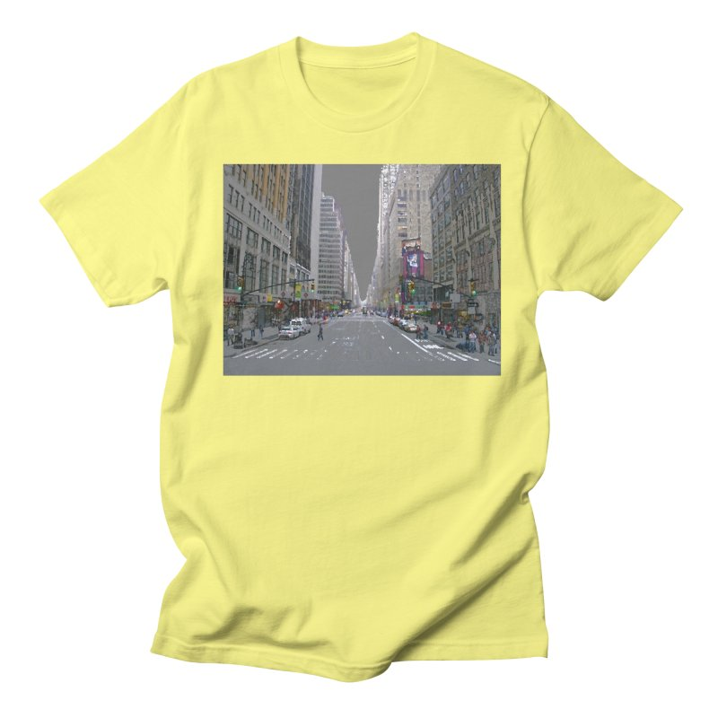 NYC PAINT Women's Regular Unisex T-Shirt by designsbydana's Artist Shop