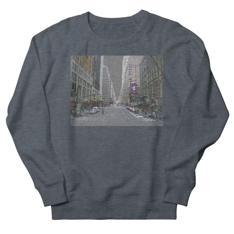 NYC PAINT Women's French Terry Sweatshirt by designsbydana's Artist Shop