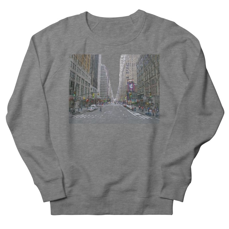NYC PAINT Women's French Terry Sweatshirt by designsbydana's Artist Shop