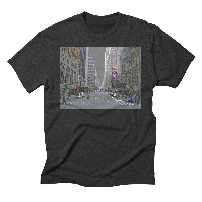 NYC PAINT Men's Triblend T-Shirt by designsbydana's Artist Shop