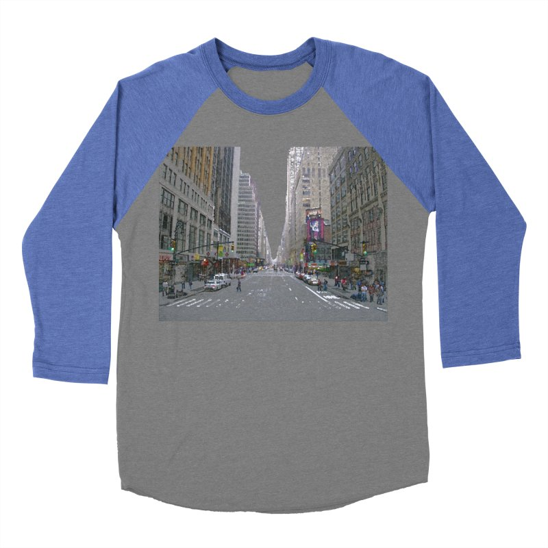 NYC PAINT Women's Baseball Triblend Longsleeve T-Shirt by designsbydana's Artist Shop