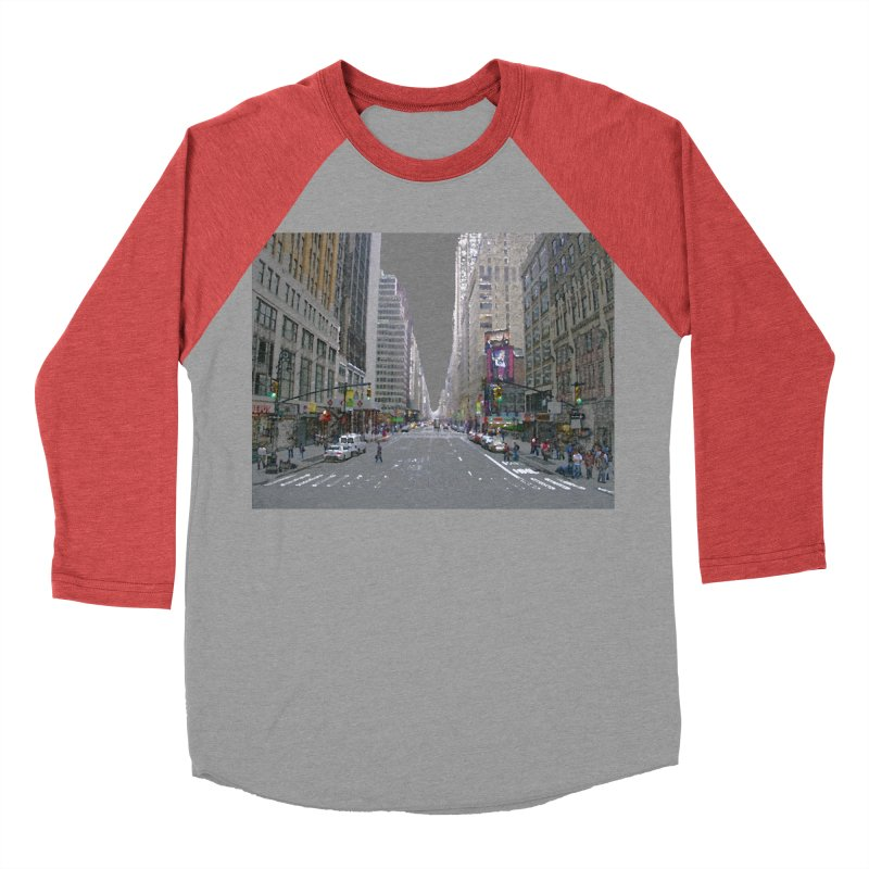 NYC PAINT Men's Baseball Triblend Longsleeve T-Shirt by designsbydana's Artist Shop