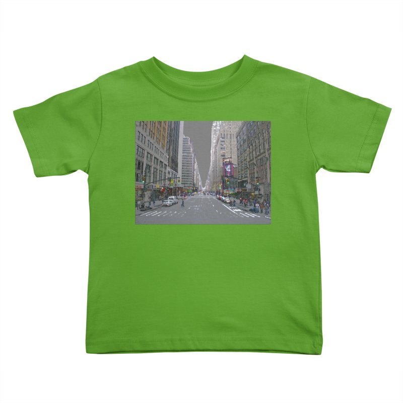 NYC PAINT Kids Toddler T-Shirt by designsbydana's Artist Shop