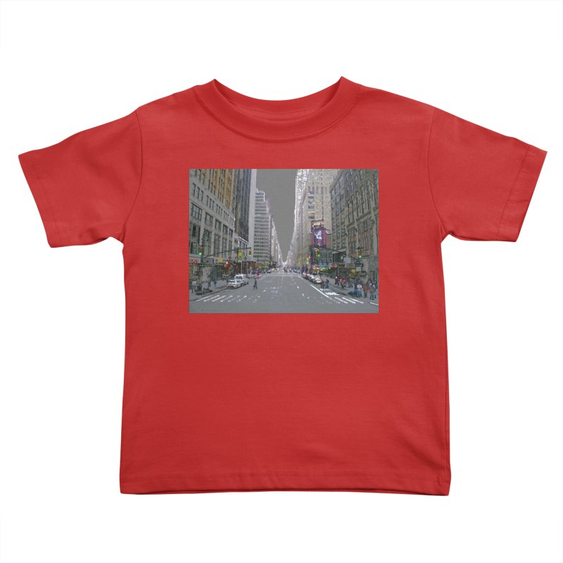 NYC PAINT Kids Toddler T-Shirt by designsbydana's Artist Shop