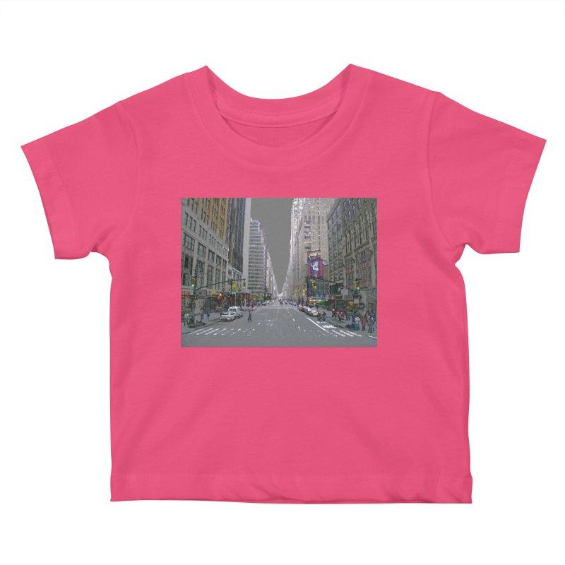 NYC PAINT Kids Baby T-Shirt by designsbydana's Artist Shop