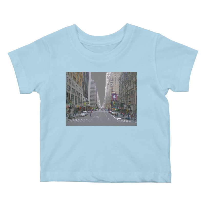 NYC PAINT Kids Baby T-Shirt by designsbydana's Artist Shop