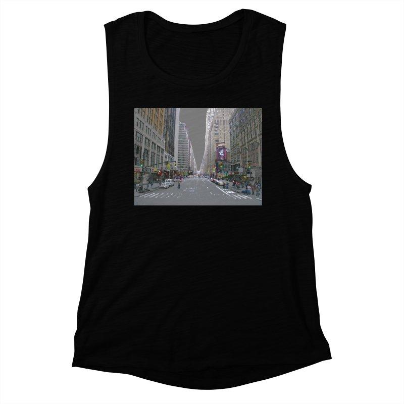NYC PAINT Women's Muscle Tank by designsbydana's Artist Shop