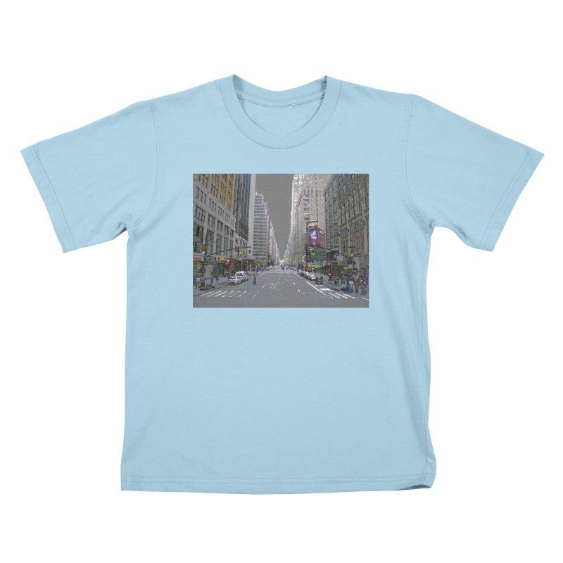 NYC PAINT Kids T-Shirt by designsbydana's Artist Shop