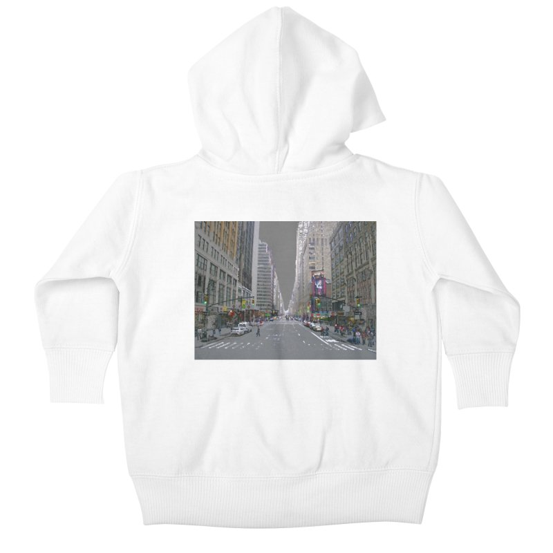 NYC PAINT Kids Baby Zip-Up Hoody by designsbydana's Artist Shop