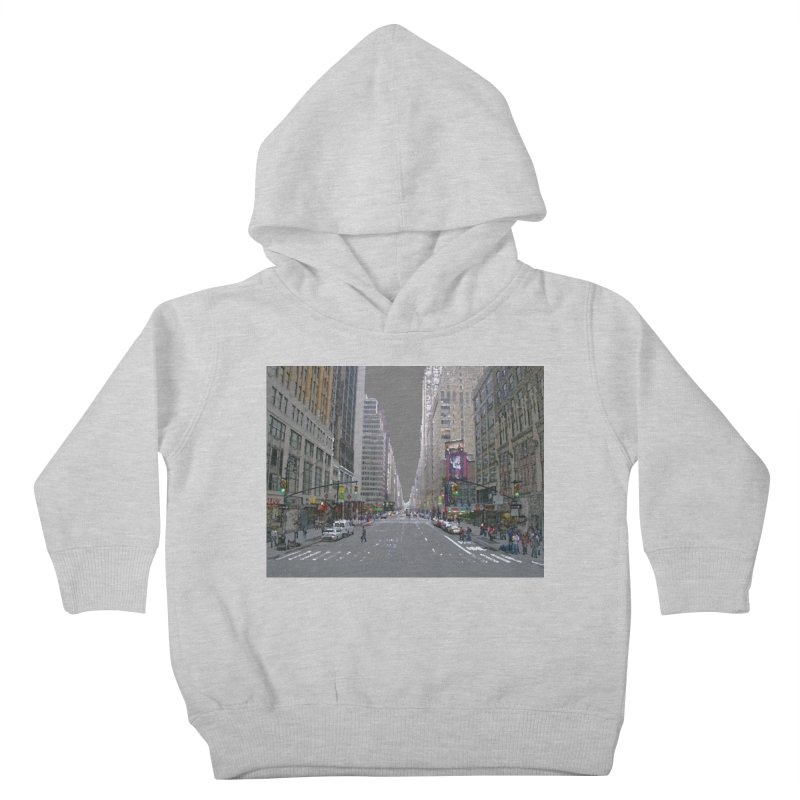 NYC PAINT Kids Toddler Pullover Hoody by designsbydana's Artist Shop