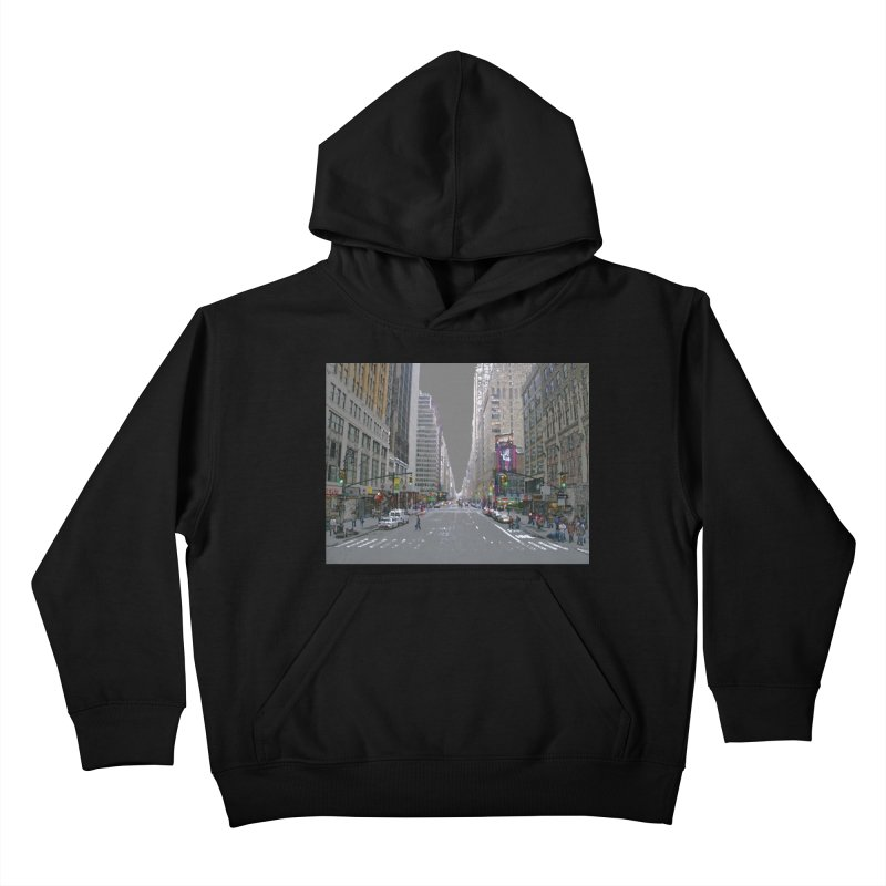 NYC PAINT Kids Pullover Hoody by designsbydana's Artist Shop