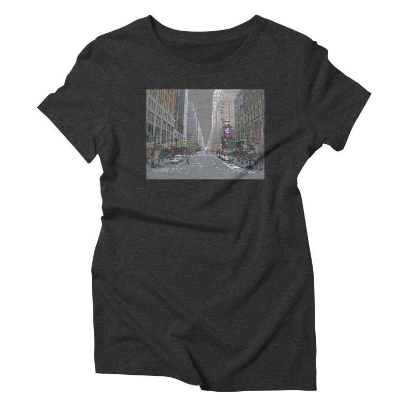 NYC PAINT Women's Triblend T-Shirt by designsbydana's Artist Shop