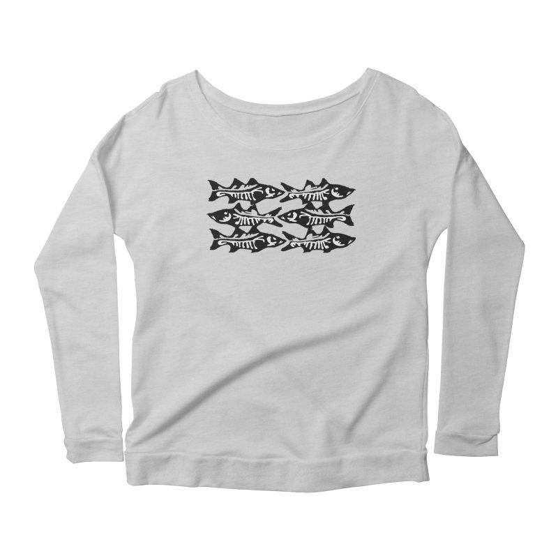 SNOOKED Women's Scoop Neck Longsleeve T-Shirt by designsbydana's Artist Shop