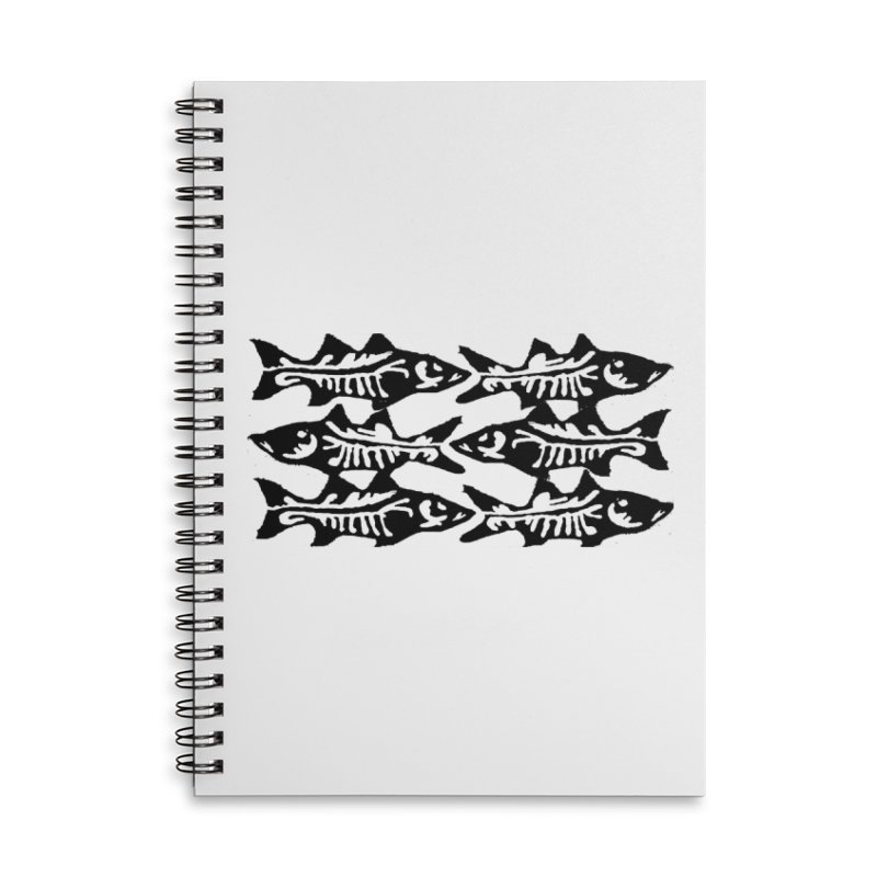 SNOOKED Accessories Lined Spiral Notebook by designsbydana's Artist Shop