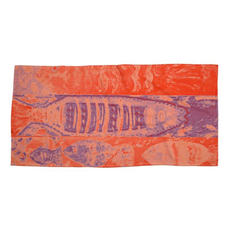 FISH BATIK Accessories Beach Towel by designsbydana's Artist Shop