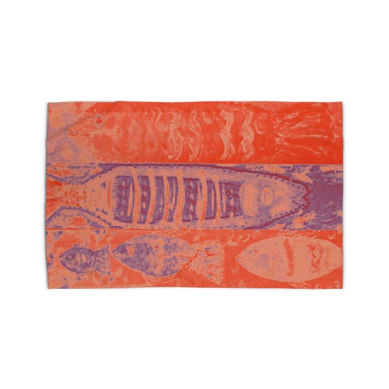 FISH BATIK Home Rug by designsbydana's Artist Shop