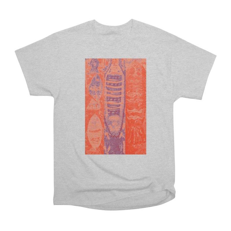 FISH BATIK Men's Heavyweight T-Shirt by designsbydana's Artist Shop