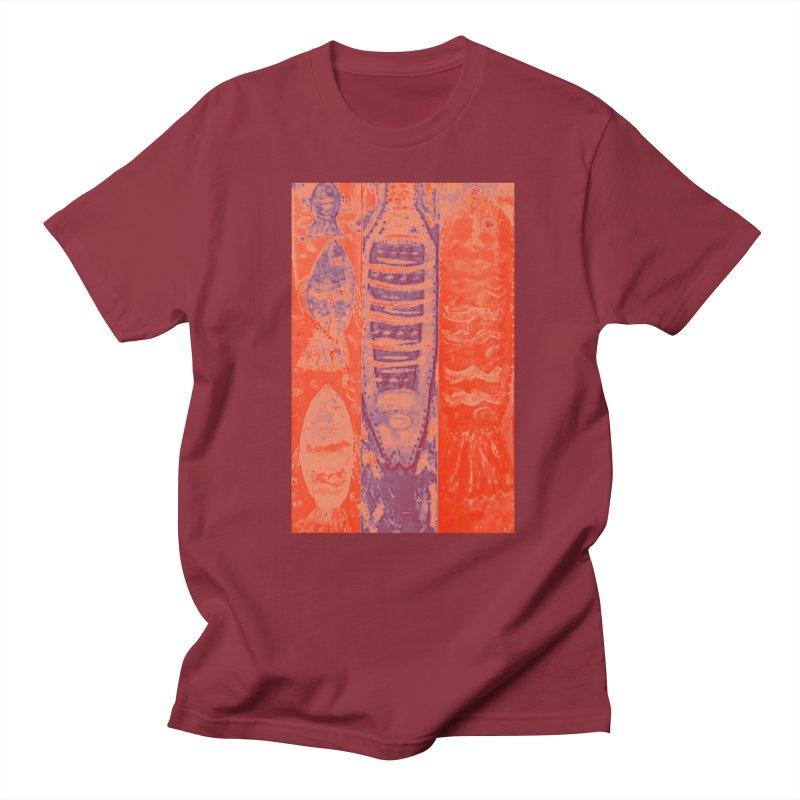 FISH BATIK Men's Regular T-Shirt by designsbydana's Artist Shop