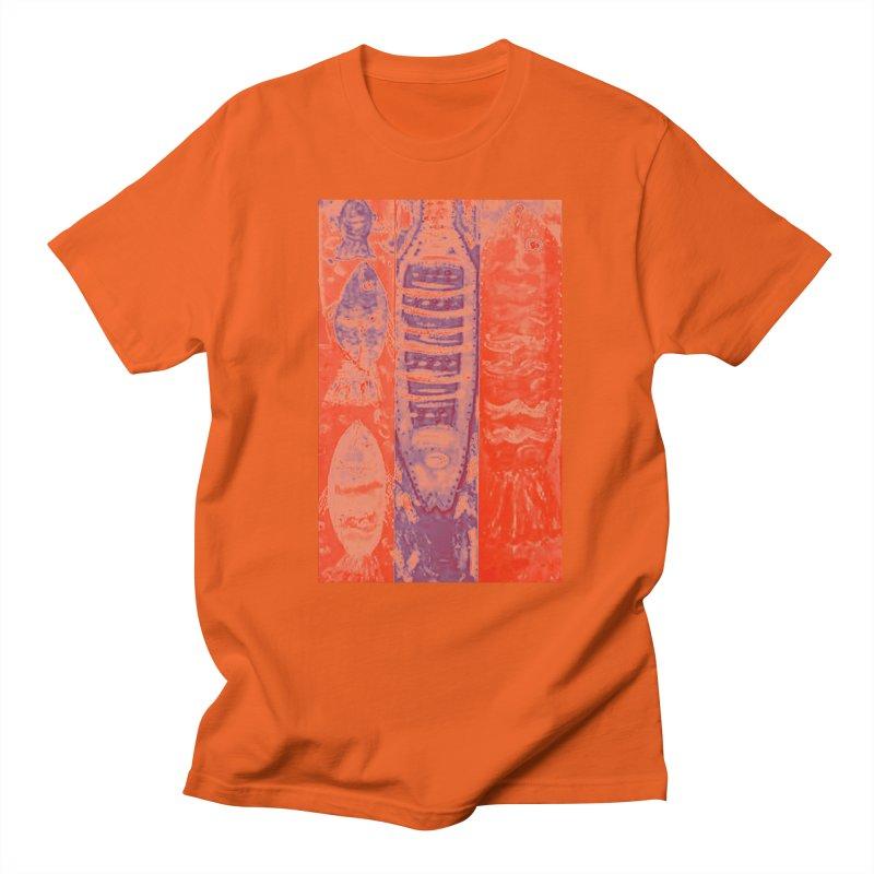 FISH BATIK Women's Regular Unisex T-Shirt by designsbydana's Artist Shop