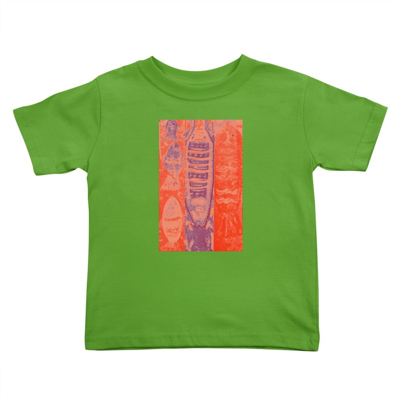 FISH BATIK Kids Toddler T-Shirt by designsbydana's Artist Shop