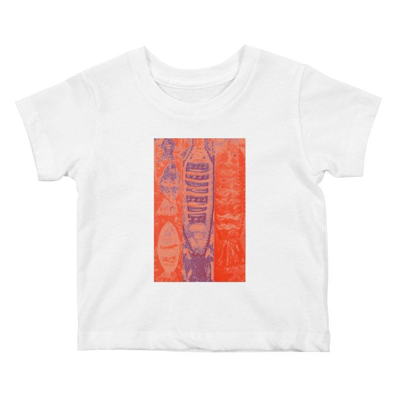 FISH BATIK Kids Baby T-Shirt by designsbydana's Artist Shop