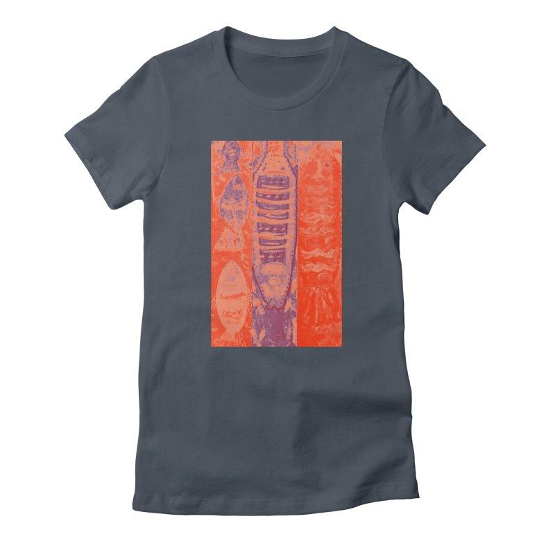 FISH BATIK Women's T-Shirt by designsbydana's Artist Shop